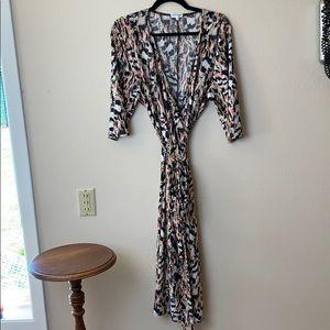 Kiyonna Wrap Dress Size 2